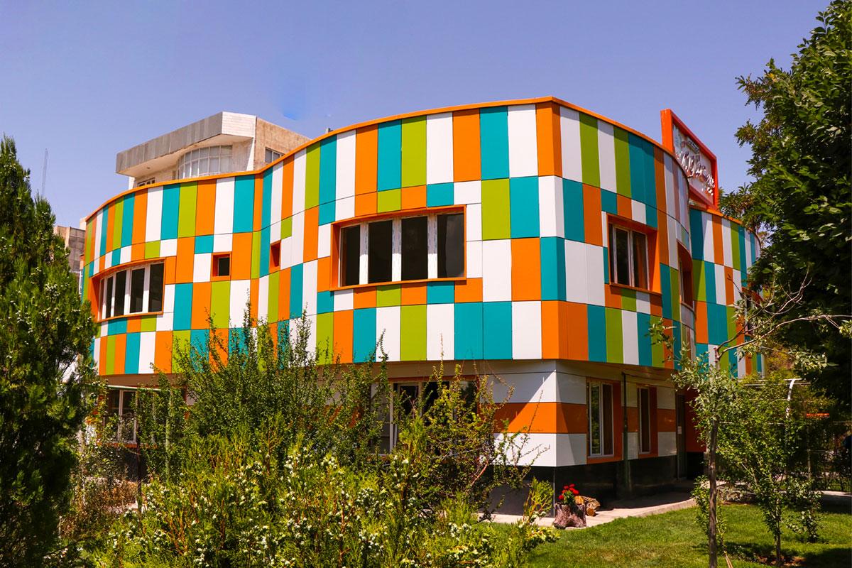 ساختمان فضای سبز شهرداری تبریز